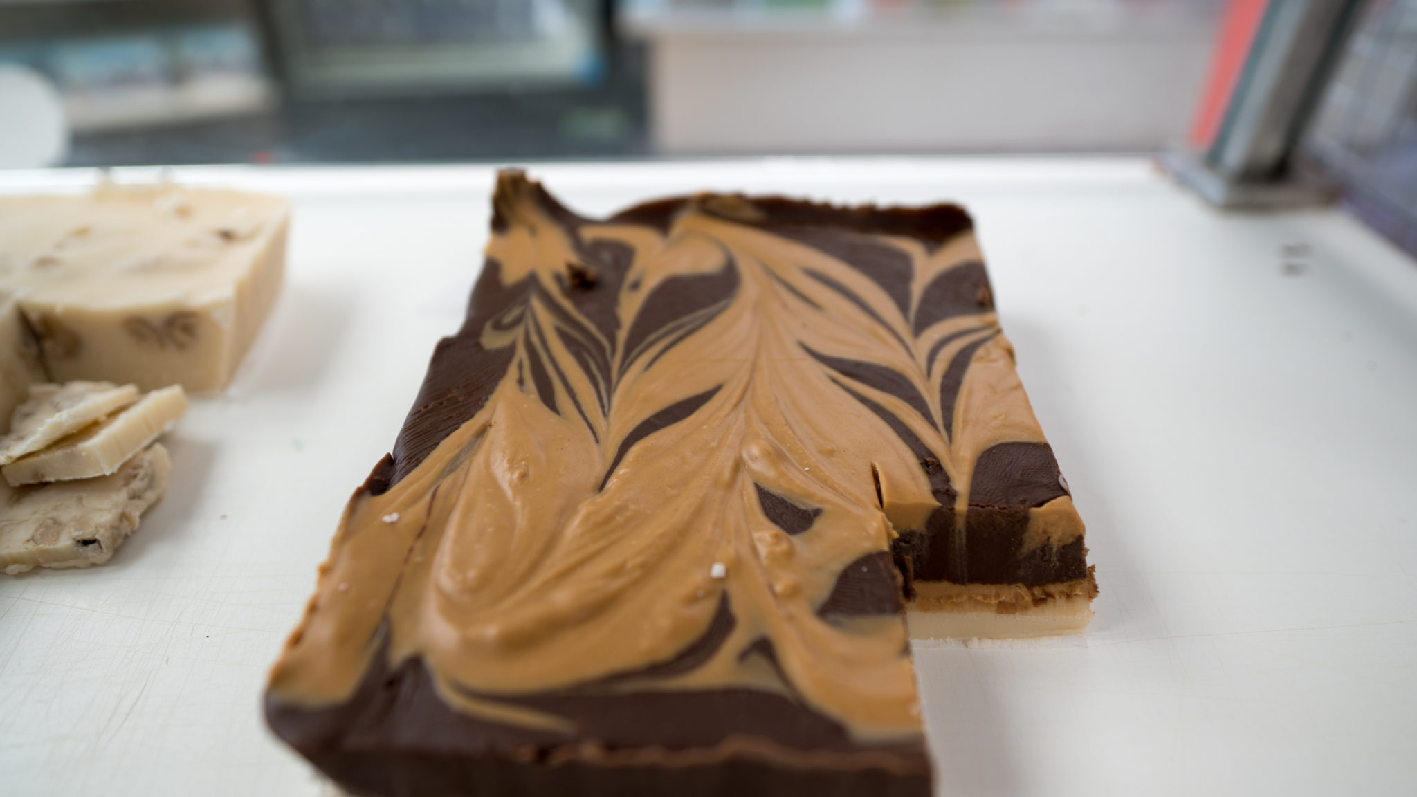 Three Blonde Bakers Tiger Butter Fudge